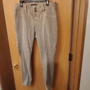 EUC Olive jeggings Torrid 14